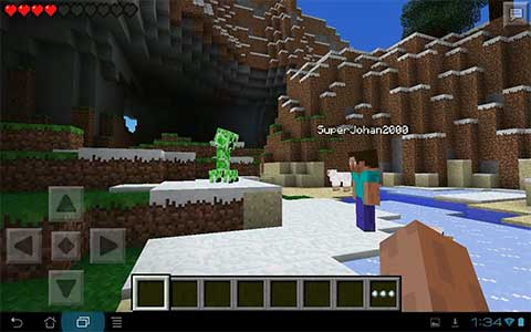 Minecraft for Android, Minecraft Pocket Edition for all mobile devices which using Google Android system in them, for example iPhones, tablets, Apple products, iPads, smartphones, cellphones and android mini laptops, netbooks, and more