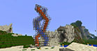 A DNA code builded - complex Minecraft building - 01