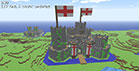 An Englad Castle in mediaval style - complex Minecraft project - 05