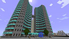 Hi-tech skycraper made in Minecraft - nice and cool stuff - 16