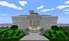 A White House - a home of the president of the United States - complex Minecraft project - 19