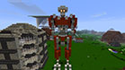 Feel like Transformers - a robot transformer - cool, advanced Minecraft building - project - 21