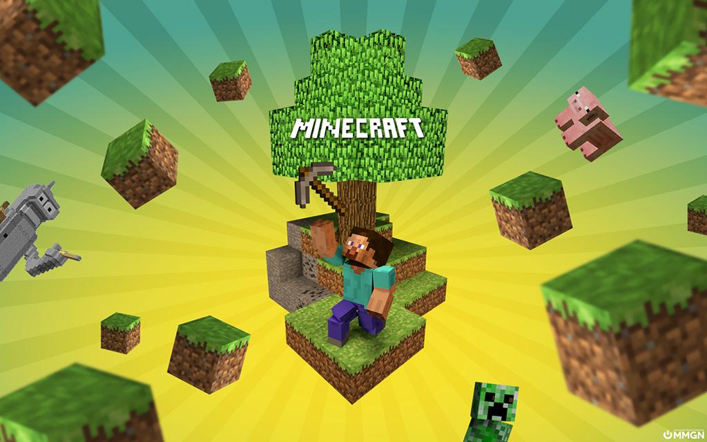 Minecraft Wallpaper Steve Super Hero On The Blocks