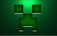 Download Minecraft wallpaper - The Creeper Face in steel wallpapers Minecraft for free - 11
